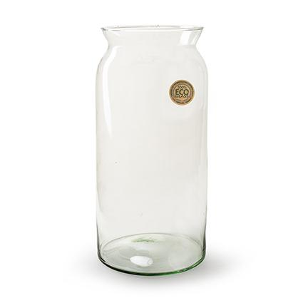 Eco vase 'noppi' h35 d17 cm