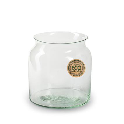 Eco vase 'nobles' h12 d12 cm