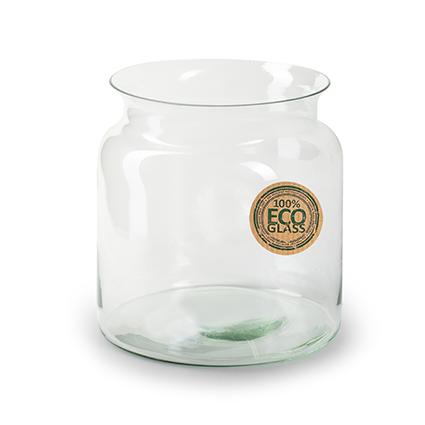Eco vase 'nobles' h15 d15 cm