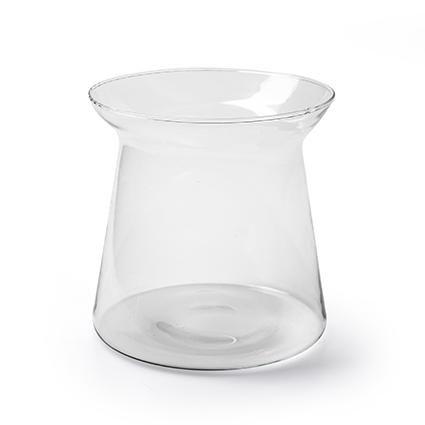 Eco vase 'berga' h15 d15 cm