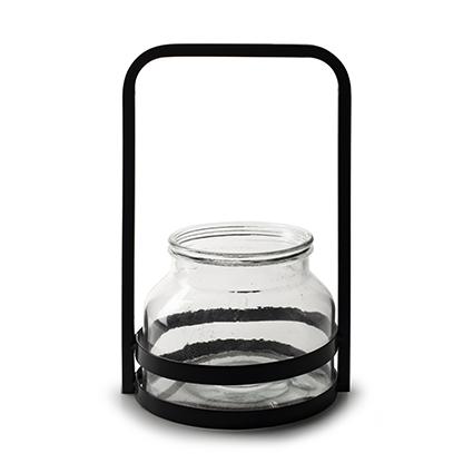 Lantern 'antonio' h28 d18 cm