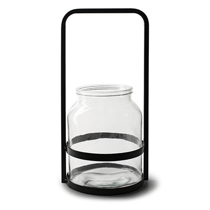 Lantern 'antonio' h37 d18 cm