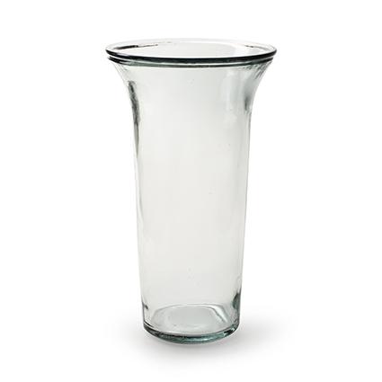 Tulip vase 'vince' h26 d15 cm