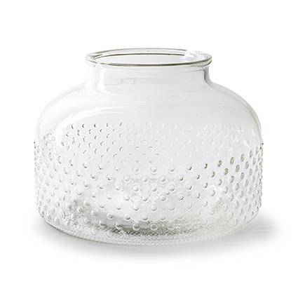 Vase 'duke' h22 d31 cm
