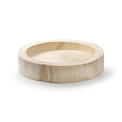 Woodenplate round 'paula' h4 d20 cm