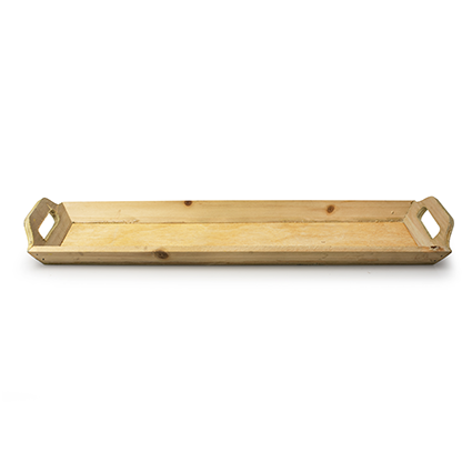 Wooden tray 'monteverde' natural