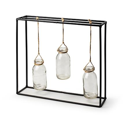 Bottle frame 'legend' h27 d30x8 cm