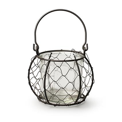Lantern 'lulu' h8,5/17,5 d9 cm