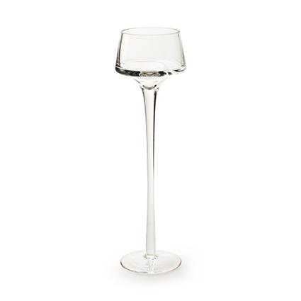 Glas op voet 'mary' h26 d8 cm