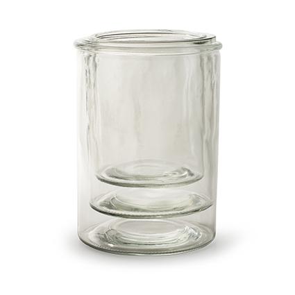 Vase 'perez' set/3 h21 d15/h18 d14/h15