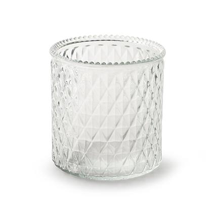 Vase 'axelle' h12,5 d12 cm