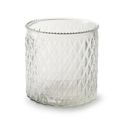 Vase 'axelle' h15 d15 cm