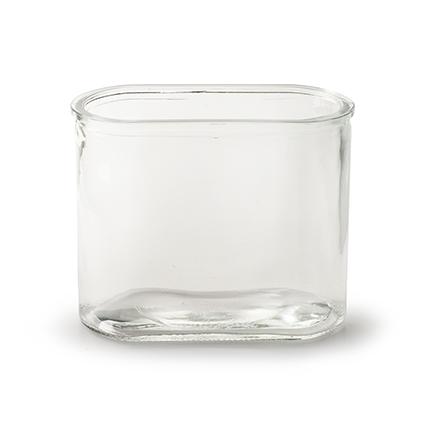 Vase 'oval' 15,5x8,5x12,5 cm