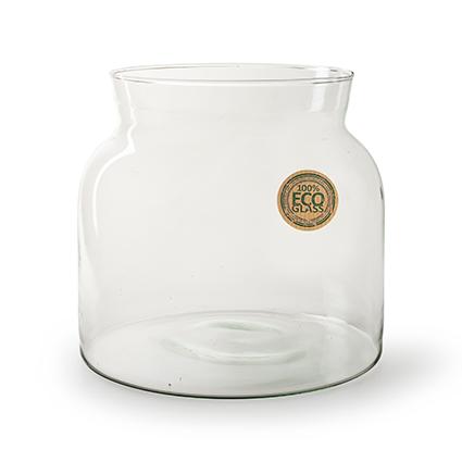 Eco vase 'bobbi' h22 d24 cm
