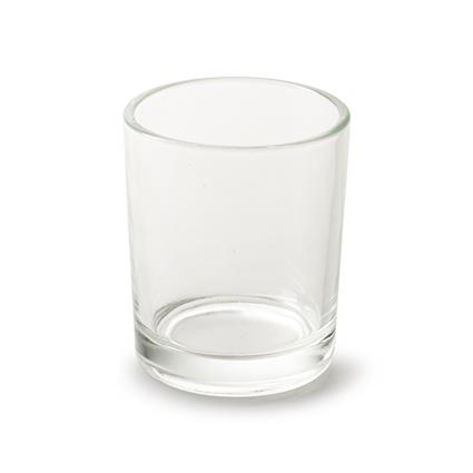 Cilinder glaasje 'kaylie' h7 d5,5 cm