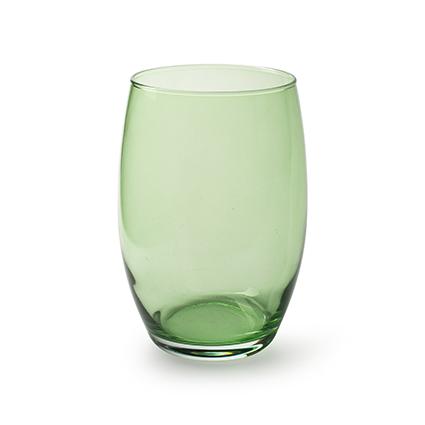 Vase 'galileo' spring green h20 d14 cm