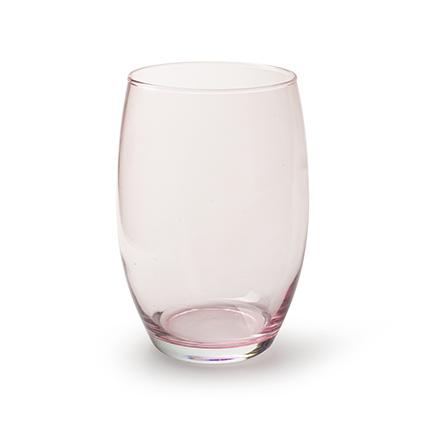 Vase 'galileo' soft pink h20 d14 cm