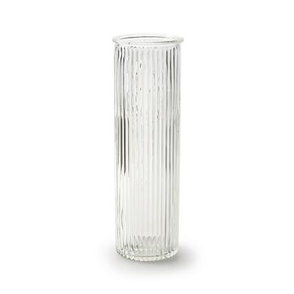 Vase 'robanne' h20 d6,5 cm