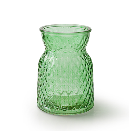 Bottle vase 'posh' spring green h13,5 d10