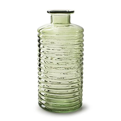 Flesvaas 'sue' lente groen h31 d14,5 cm