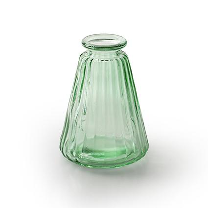 Flesvaas 'pyra' lente groen h10 d7 cm