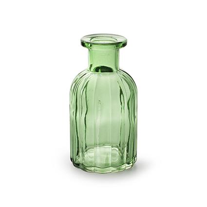 Flesje 'norinne' lente groen h10,5 d5,5 cm