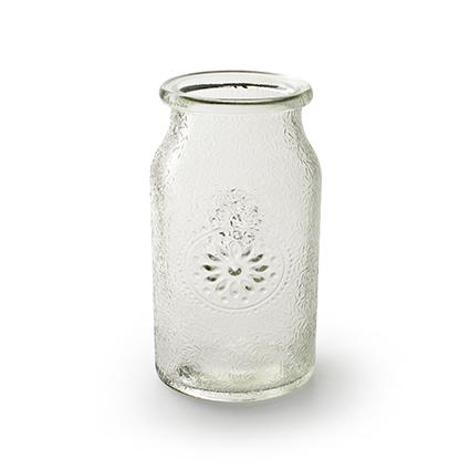 Vase 'Sunshine' h18 d10 cm