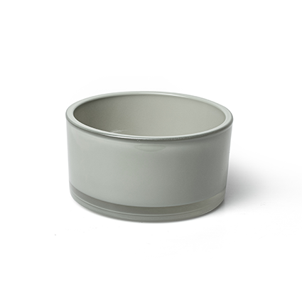 Bowl 'syl' soft grey h8 d15 cm