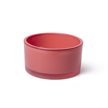 Bowl 'syl' coral red h8 d15 cm