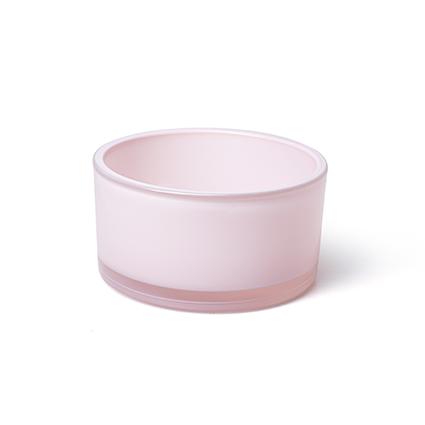 Schaal 'syl' zacht roze h8 d15 cm