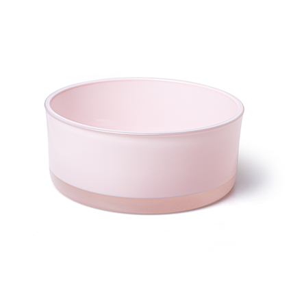 Bowl 'syl' soft pink h8 d19 cm