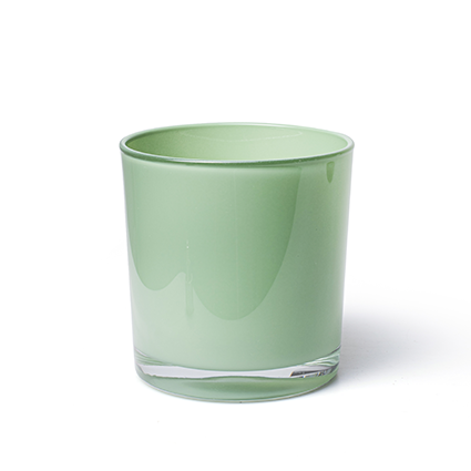Conical vase 'monaco' spring green h12