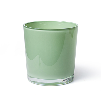 Conical vase 'monaco' spring green h13