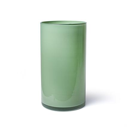 Cylinder 'arthur' spring green cover h30