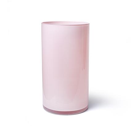 Cilinder 'arthur' zacht roze cover h30 d16 cm