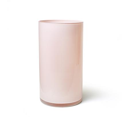 Cilinder 'arthur' perzik cover h30 d16 cm