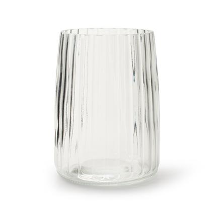 Cilinder vaas 'imke' h17,5 d12,5 cm