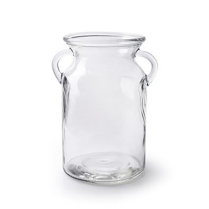 Vase 'milky' h19 d12 cm