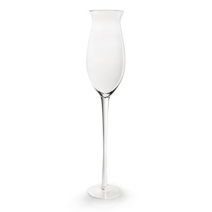 Champagne glass h90 d19 cm