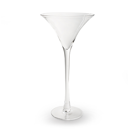 Martini glass h50 d25 cm