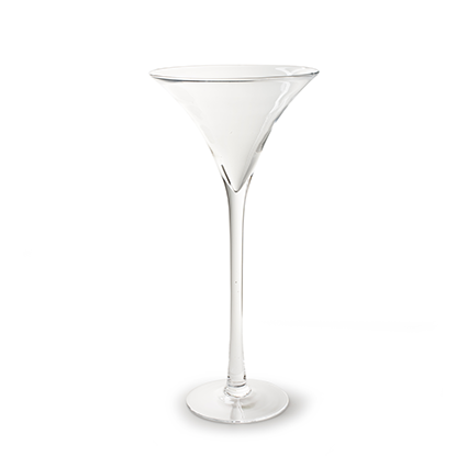 Martini glass h70 d30 cm