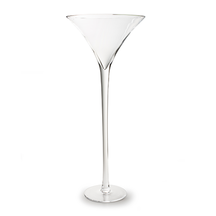 Martini glass h90 d35 cm