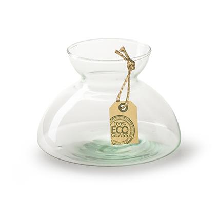 Eco vase 'dante' h9,5 d13,5 cm