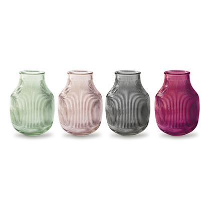 Vase with grain 'django' tutti frutti 4-ass.