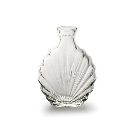 Bottlevase 'leaf' small h11,5 d9 cm
