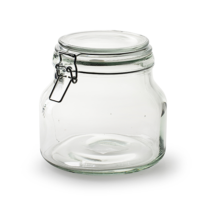 Storage jar 'stock' h15 d16 cm/1700ml