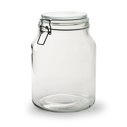 Storage jar 'stock' h22,5 d16 cm/3000ml