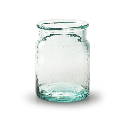 Vase 'nola' h14 d11cm