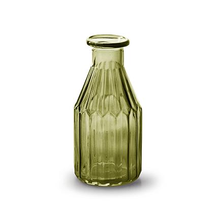 Flesvaas 'shoot' S groen h15 d7,5 cm