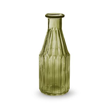Flesvaas 'shoot' M groen h20 d7,5 cm